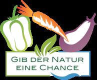 Gib der Natur eine Chance Logo