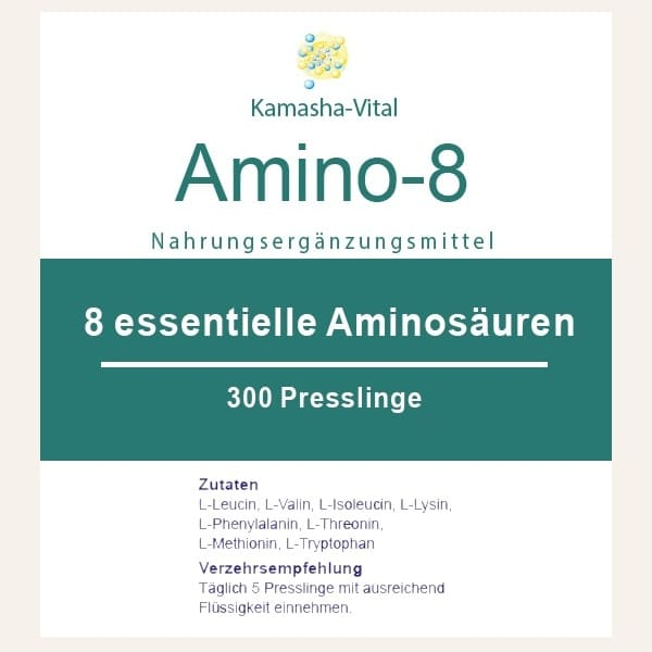 8 Essentielle Aminosäuren