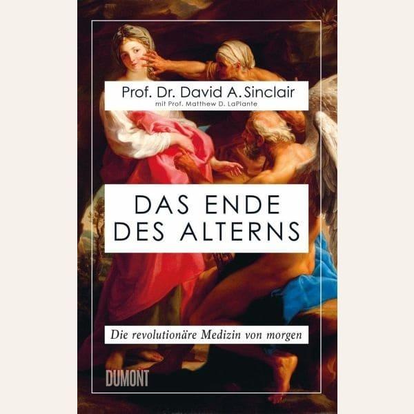 """Buch """"Das Ende des Alterns"""""""