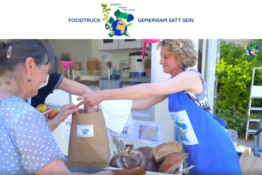 Video vom Food-Truck Children beyond the world Deutschland auf facebook