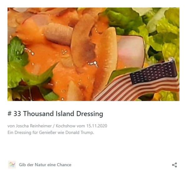 Rezept Thousand Island Dressing