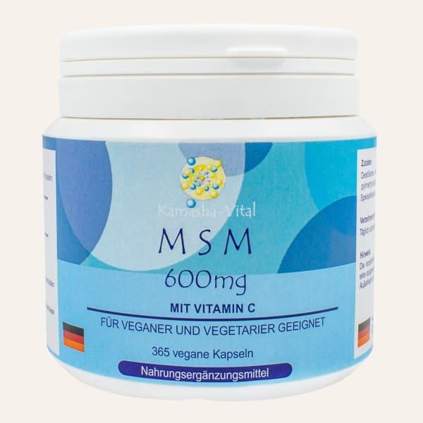 MSM Methylsulfonylmethan, Schwefel für den Körper