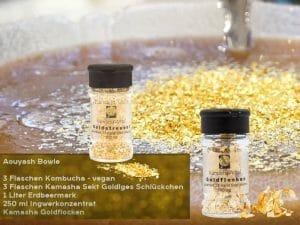 Goldflocken und Goldstreusel