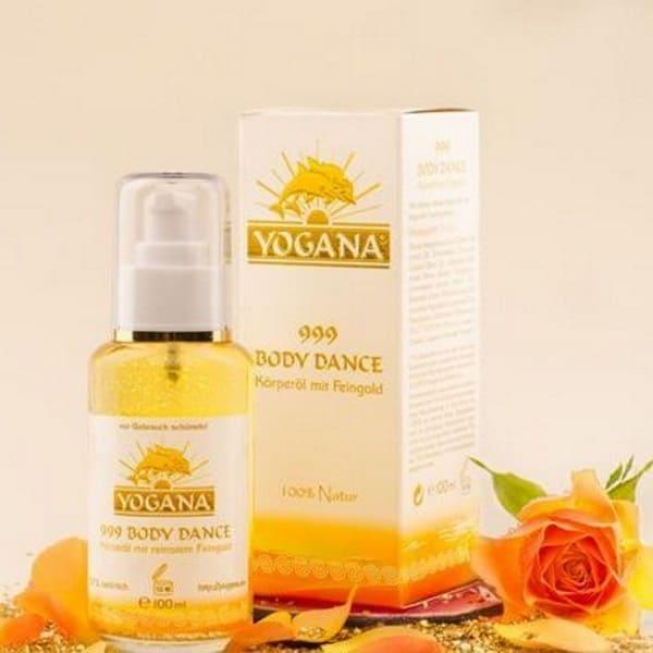 Yogana 999 Body Dance Körperöl mit Feingold
