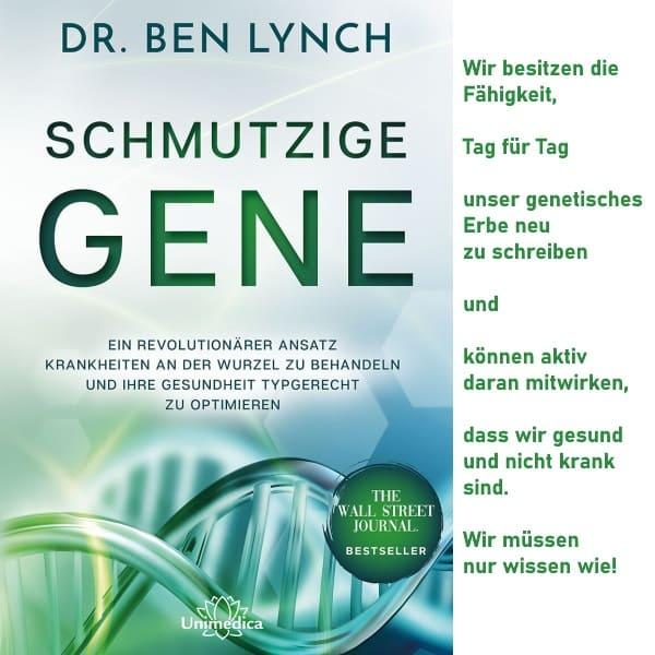 Dr. Ben Lynch Buch Schmutzige Gene ISBN 9783962570422