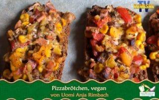 Vegane Pizzabrötchen