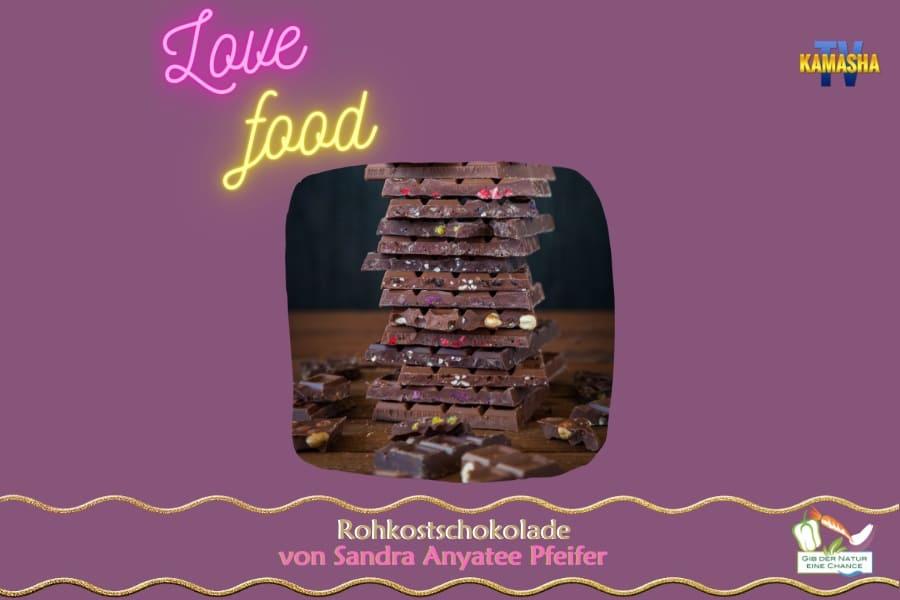 Rohkost Schokolade Video + Rezept