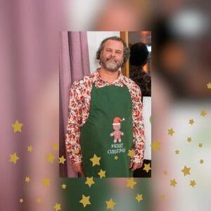 Kochschürze aus der 6. Kochshow vom 6. Dezember 2020